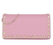 Umhängetasche Rockstud Pochette On A Chain Giacinto rosa