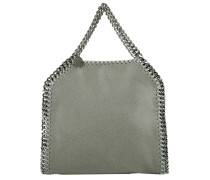 Tote Mini Falabella 3Chains Light Grey grau
