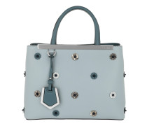 Petite 2Jours Tote Leather Light Blue/Night Tote