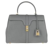 Satchel Bag 16 Bag Medium Grained Calfskin Medium Grey grau
