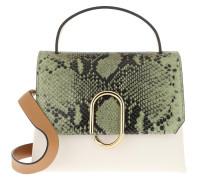 Satchel Bag Alix Mini Top Handle Green Multi