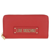 Portemonnaies Logo Wallet Rosso rot
