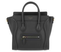 Autch Luggage Nano Shopper 2way Leather Black Tasche