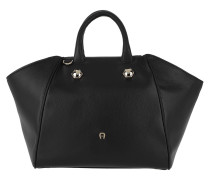 Crush M Handbag Black Satchel Bag