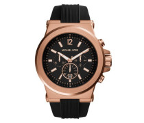 Dylan Rose Stainless Steel Watch Gold-Tone Armbanduhr gold