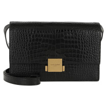 Bellechasse Shoulder Bag Leather Black Tasche