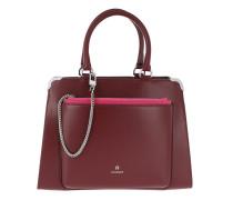 Amber Bag M Burgundy Tote