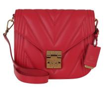 Umhängetasche Small Shoulder Bag Ruby Red