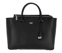Nolita Large Satchel Bag Black Tote