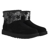 Boots Classic Mini Sequin Stars Black