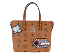 Anya Victory Patch Visetos Shopper Mini  Tote