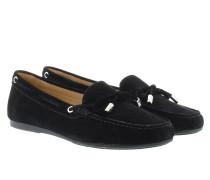 Sutton Moccasin Suede Black Schuhe