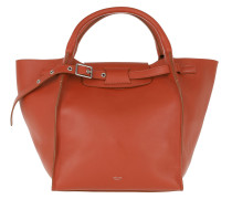 Small Big Bag Soft Bare Calfskin Claycourt Tote
