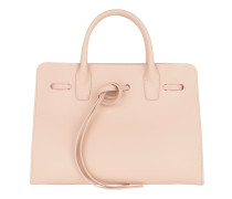 Tie Fastening Tote Leather / Tote