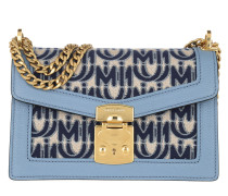 Umhängetasche Confidential Jacquard Shoulder Bag Corda Blu/Astra blau