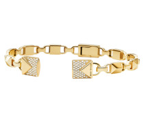 Schmuck MKC1009AN710 Hinged Open Cuff Mercer Link Gold gold