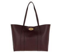Shopper Baywater Tote Small Leather Burgundy rot