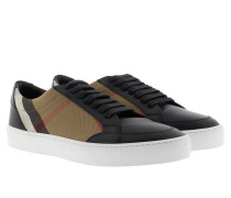 Salmond Sneakers House Check Black Sneakers