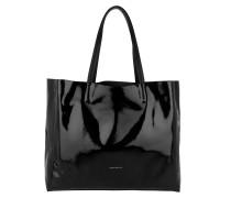 Shopper Delta Naplack Shopping Bag Noir schwarz