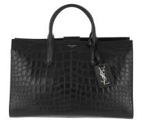 Jane Shoulder Bag Calf Leather Black Tote
