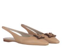 Schuhe Fener Loafers Camel