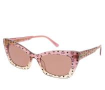 Sonnenbrille MCM682S Rose/Honey Iridescent Visetos rosa