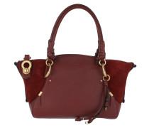 Owen Shoulder Bag Leather Sienna Red Tote