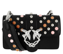 Mini Love Stones Shoulder Bag Nero/Multicolor
