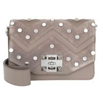 Niky Mirror Crossbody Bag Tortora Satchel Bag