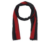 GG Web Wool Stole Black Schal