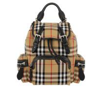 Yellow Small Heritage Check Backpack Yellow Rucksack