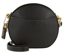 Umhängetasche Glovetanned Leather Canteen Crossbody Black schwarz