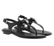 Alice Thong Black Sandalen