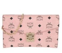 Umhängetasche Patricia Visetos Crossbody Wallet Large Soft Pink rosa