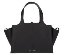 Tri-Fold Medium Shopper Black Shopper