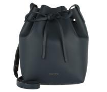 Beuteltasche Mini Bucket Bag Blue blau