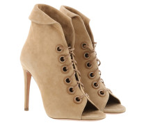 Sandalen Eva Booties Leather Beige beige