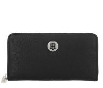 Portemonnaie Core Large Wallet Black schwarz