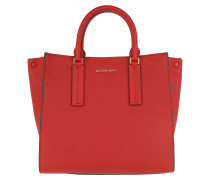 Tote Alessa Large Satchel Bright Red hellrot
