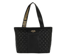 Quilted Nappa Tote Nero Tote