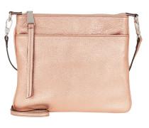 Umhängetasche Calf Shimmer Handle Bag Copper gold