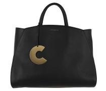 Concrete Handle Bag Noir Tote