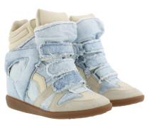 Bekett Sneakers Suede Blue Sneakers