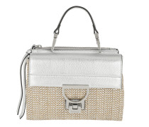 Arlettis Shoulder Bag Metal Straw Silver/Silver Tasche