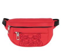 Gürteltasche Nylon Doudoune Tiger Belt Bag Medium Red rot