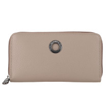 Portemonnaie Mellow Leather Wallet Simply Taupe grau
