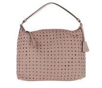 Weave Paglia di Vienna Leather Shouler Bag Tourmaline Hobo Bag