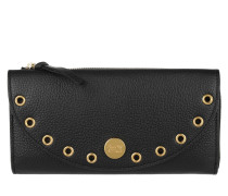 Kriss Long Wallet Black Portemonnaie