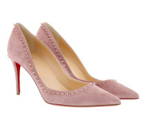 Anjalina Pumps Veau Velours Voile/Pink Bronze Pumps