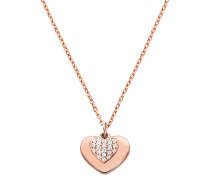 Halskette MKC1120AN791 Love Heart Duo Pendant Roségold